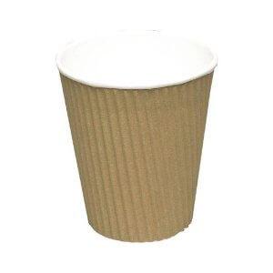 Espresso Ripple Wrap papkrus 10 cl brun