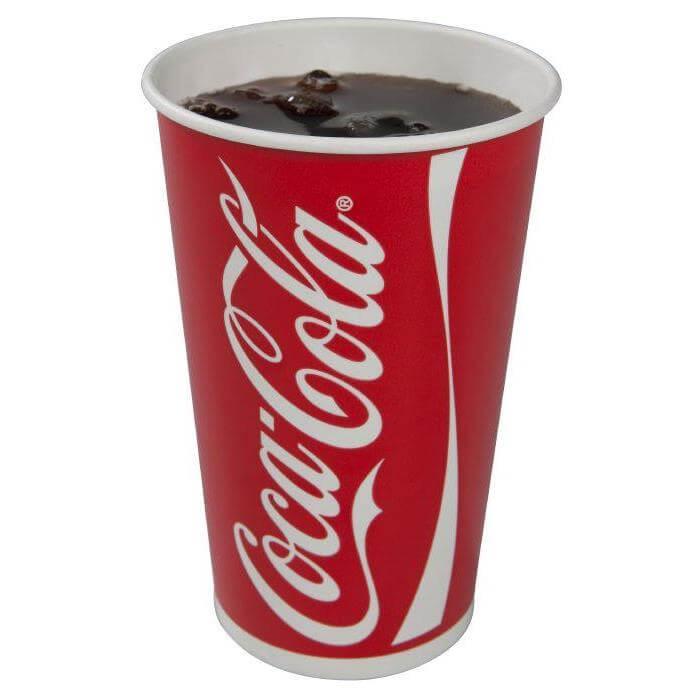 Coca Cola sodavands papkrus 40 cl