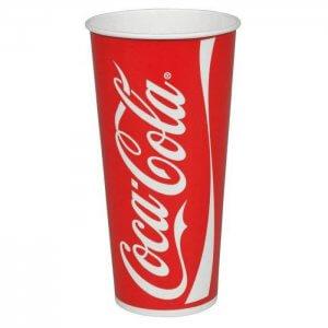 Coca Cola sodavands papkrus 50 cl