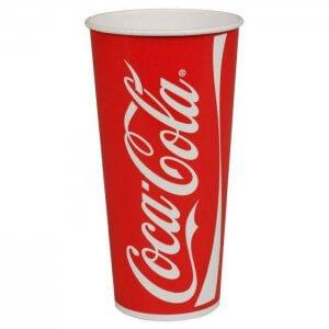 Coca Cola sodavands papkrus 75 cl