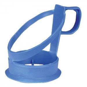 Kopholder til automatbæger i blå