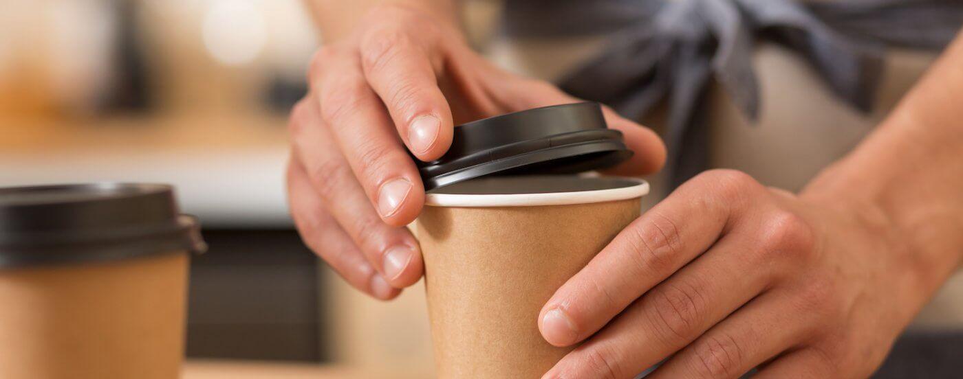 Takeaway kop kaffe