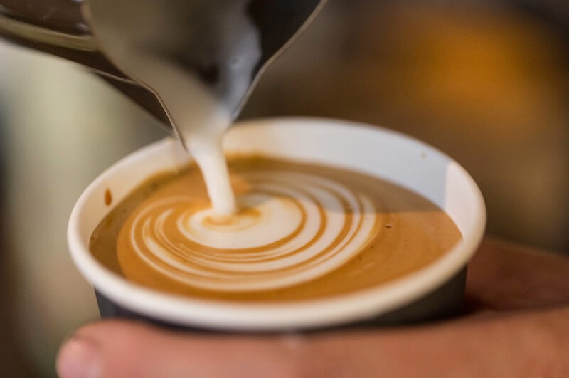 Coffee to-go papkrus