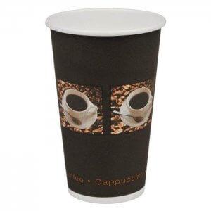 Kaffebæger med grafik - 33 cl
