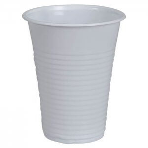 Drikkebæger - hvid - PP - 18 cl