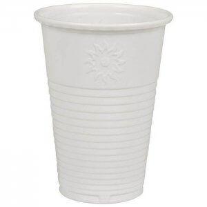 Drikkebæger - hvid - PP - 21 cl
