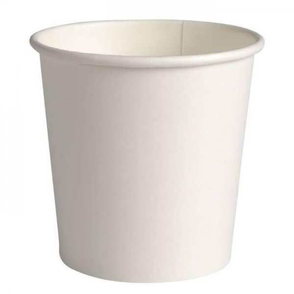 Espresso kaffebæger - hvid - 10 cl