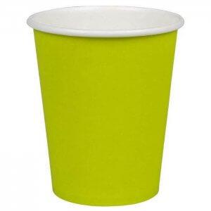 Kaffekop - kiwi grøn - 24 cl