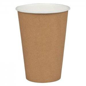 Kaffekop - brun - 20 cl