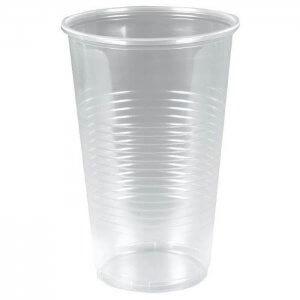 Fadølsglas - klar - blød og splintfri - PP - 50 cl