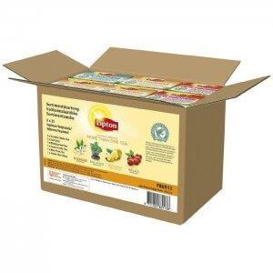 Lipton brevte - Rainforrest Alliance - assorteret kasse - 6 pakker