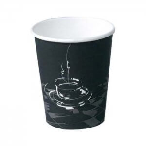 Kaffebæger med grafik - Coffee cup - 24 cl
