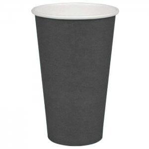 Kaffekop - koksgrå - 48 cl