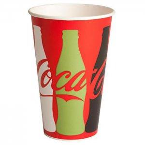 Coca Cola sodavands papkrus - grafik - 40 cl