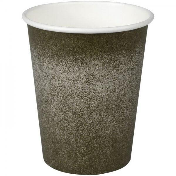 Kaffebæger - grå grafik - Svanemærket - 24 cl