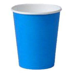 Kaffebæger - blå - 24 cl