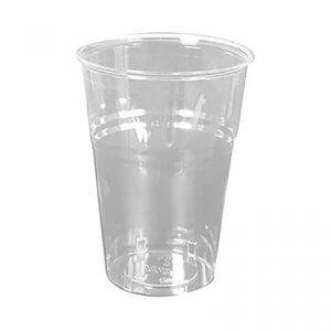 Drikkeglas - klar - 40 cl - Bionedbrydelig PLA